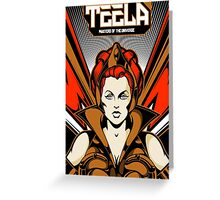Teela : Masters Of The Universe Greeting Card