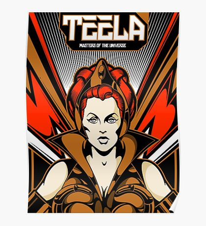 Teela : Masters Of The Universe Poster