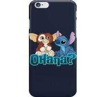 Gizmo and Stitch iPhone Case/Skin