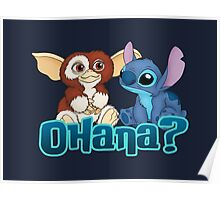 Gizmo and Stitch Poster