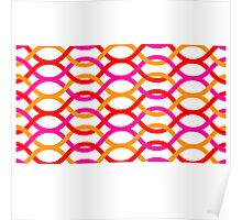background abstract rantai Poster