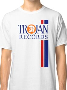 TROJAN RECORDS TWO STRIPE Classic T-Shirt