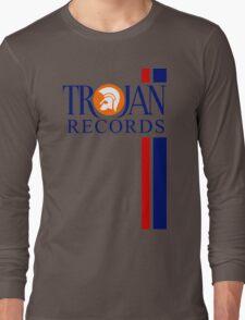 TROJAN RECORDS TWO STRIPE Long Sleeve T-Shirt