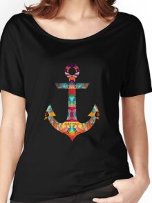 Decorative Anchor Women's Relaxed Fit T-Shirt