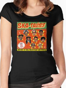 "THE SKATALITES "" HISTORY OF SKA, ROCKSTEADY, & REGGAE "" GIFT Women's Fitted Scoop T-Shirt"