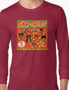 "THE SKATALITES "" HISTORY OF SKA, ROCKSTEADY, & REGGAE "" GIFT Long Sleeve T-Shirt"