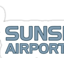 Sunshine Airport Sticker