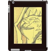 bending at the knee iPad Case/Skin