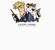 Calvin And Hobbes Private Investigation Unisex T-Shirt