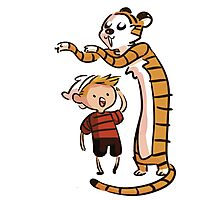 Finn And Hobbes Photographic Print
