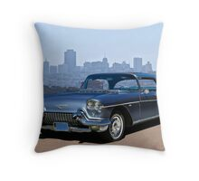 1957 Cadillac Eldorado Brougham Throw Pillow