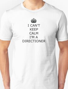 Keep Calm I'm A Directioner One Direction T-Shirt Unisex T-Shirt