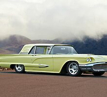 1958 Ford Thunderbird 'Custom' by DaveKoontz