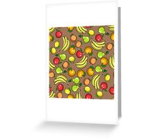 ColorfulFruit Greeting Card