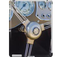 Classic MG Steering Wheel iPad Case/Skin