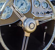 Classic MG Steering Wheel by psankey