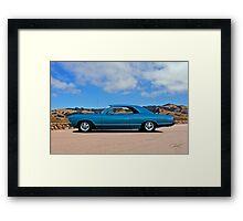 1967 Chevrolet Malibu  Framed Print