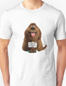 Duke secret life of pets Unisex T-Shirt