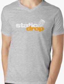 Static drop (5) Mens V-Neck T-Shirt