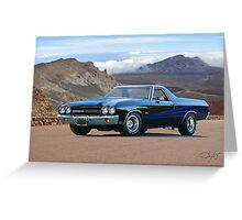 1970 Chevrolet El Camino SS Greeting Card