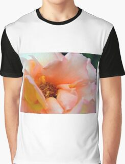 Macro on delicate pink rose. Graphic T-Shirt