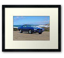 1970 Pontiac GTO Framed Print