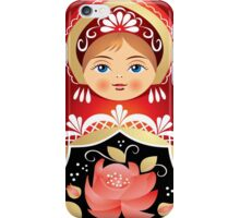 Babushka Matryoshka  Russian Girly Doll iPhone Case/Skin