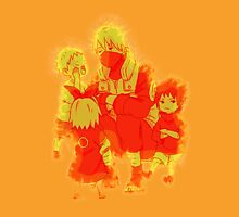 Kakashi with team 7 kids 00022 Unisex T-Shirt