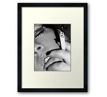 Smokin' Hot Framed Print