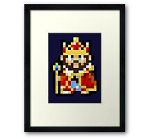 Game Center CX King Framed Print