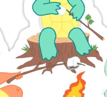 Pokemon Camping Sticker