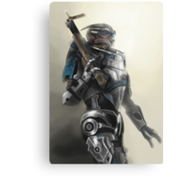 A busy Turian Metal Print