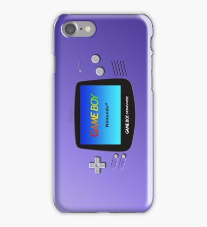 Game Boy Advance iPhone Case/Skin