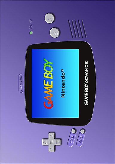 Game Boy Advance by Colossal
