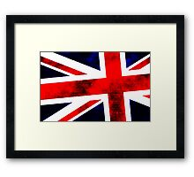 Union Jack A Framed Print