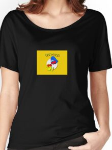 Pac-Man Ghost Original  Women's Relaxed Fit T-Shirt