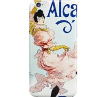 Vintage Jules Cheret 1896 Louise Balthy iPhone Case/Skin