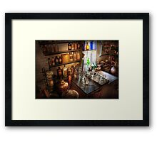 Pharmacist - A little bit of Witch Craft Framed Print