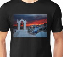 Oia sunset Unisex T-Shirt
