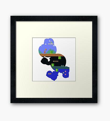 Koopa World Framed Print
