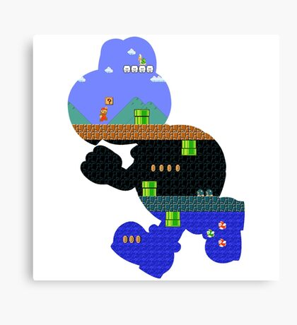 Koopa World Canvas Print