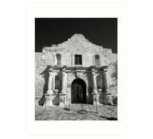 The Alamo, San Antonio Art Print
