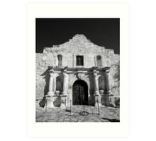 The Alamo, San Antonio Art Print