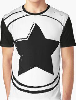 Vintage Star black Graphic T-Shirt