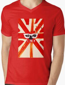 London Eye Mens V-Neck T-Shirt