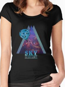 Sky is the limit Women's Fitted Scoop T-Shirt