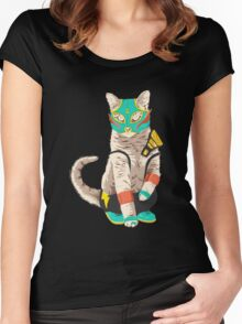 El Gato Women's Fitted Scoop T-Shirt