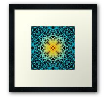 """""""Spirit of India: Fleur"""": sun and water Framed Print"""