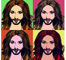 Conchita Wurst - Pop Art Photographic Print