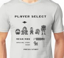 Classic game boy player select Unisex T-Shirt